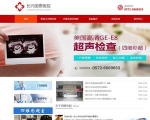 宁波国泰医院网站建设